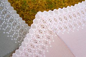 クラシカルな日傘